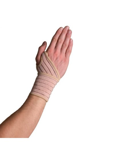 304e - Elastic Wrist Wrap - Attelle de poignet élastique